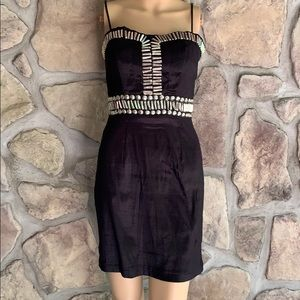 ROMEO & JULIET COUTURE | Black and Silver Dress